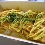 *台南早餐*少爺手作蛋餅專賣,大份量平價蛋餅,吃得到滿滿薯泥的綜合蛋餅!