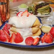 台南下午茶推薦 autumn舒芙蕾熱 鬆餅:不用到日本就吃得到的超美味鬆餅,沒訂位吃不到唷! 草莓鬆餅 - 緹雅瑪 美食旅遊趣