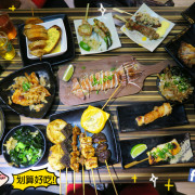 行天宮站-燒鳥串道吉林店,高CP值串燒居酒屋,貓飯+茶泡飯吃到飽.啤酒小酌