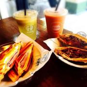 捷運公館站✿倆倆號 Liang Liang Hao✿唰嘴的平價小食~甜鹹熱壓吐司與多種飲品選擇 ! 不限時隨意吃飽飽 !