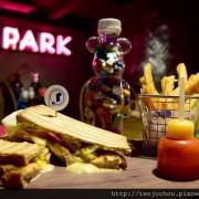 花花,甲飽沒【台北食記】T-Park Café&eatery中山站不限時咖啡店推薦!玩具迷必訪的超級天堂!