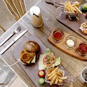 【男子的日常生活】T-Park Café&eatery,中山區美式餐廳,結合藝術音樂玩具公仔的美食空間。濕地/Be@rbrick/林森北路/漢堡