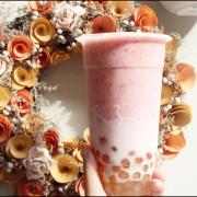 [ 大安站美食 ] 淺藍 × 木子日青 日嚐專賣店~隱藏版夢幻粉紅少女系草莓牛奶珍珠
