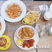 食記◎--【世貿101】Cloud 9 Cafè咖啡廳。在鄉村文青風格的咖啡館享用信義區平價美食下午茶