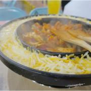 [南崁菜鳥覓食記]OMAYA春川炒雞 媽呀!超牽絲起司乳溝鍋&超爆炸棉花糖泡泡