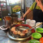 【基隆美食推薦】孝三路肉圓 味道不錯 肉圓皮真的好Q彈的人氣肉圓