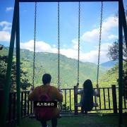 (♛台灣。賈桂林-我只想旅行){民宿}可在絕景之中盪鞦韆的民宿-谷點咖啡民宿