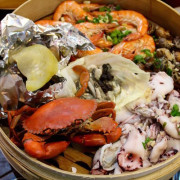 [台南]北區 平價海鮮蒸籠塔 順隆發蒸籠海鮮鍋