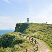 《台北貢寮》三貂角燈塔 尋訪國境之東的聖地牙哥、湛藍與純白的希臘風