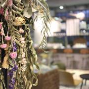 嘉義景點:淺藍 × 承億小鎮慢讀~文青書店還有好多生活文創選物與滿滿乾燥花,好拍又好逛