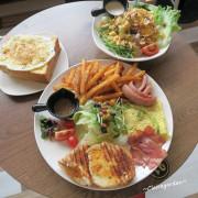 桃園 豐滿總匯三明治(站前店)~工業風裝潢裡吃平價大份量早午餐