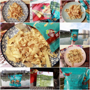 【台南東區】啵蒡脆餅:零嘴也可以吃的很健康!採用將軍區黃金牛蒡製作的脆餅,口味特別又美味,還可搭配調味粉食用,送禮自用兩相宜
