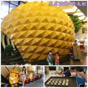 『新北觀光工廠』是誰住在陸地上的大鳳梨裡 ||維格餅家鳳梨酥夢工場|| DIY造型鳳梨酥x台北一日遊!