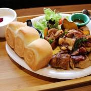 【台南美食】多一點咖啡館(台南成大館)-美味吐司早午餐&鐵板