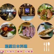 【食記】高雄左營_藍屋日本料理@感受著有價值的豐盛感 體驗著那一道手工料理的堅持用心