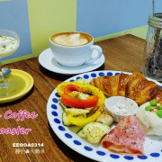 【南京復興咖啡廳】派對客咖啡 Partik Coffee & Roaster ♥ 捷運南京復興站早午餐/咖啡/下午茶/甜點 鄰近遼寧街夜市