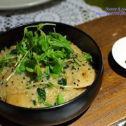【台北大安食記】二訪艾果豐洲際料理餐廳。用私房配方打造純素創意料理,大推黑松露麻油燉飯