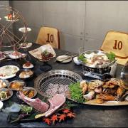 台中燒肉也有摩天輪!龍門馬場洞燒肉~濕式熟成冷藏牛套餐內容豐盛小菜吃到飽一人不到900元CP值超高!