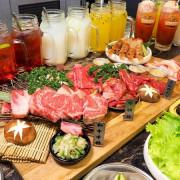 龍門燒肉,韓風貨櫃屋裝潢,全新男子漢套餐霸氣上桌~