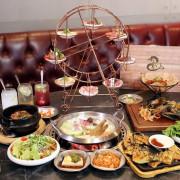 台中北屯夢幻摩天輪燒肉,濕式熟成冷藏牛肉燒烤+海鮮火鍋超級大滿足