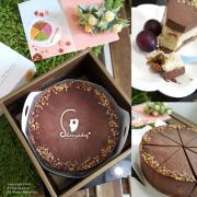 【蛋糕甜點】75%CACAO BARRY黑巧克力X貝禮詩奶酒 微醺的甜蜜 貝禮詩香蕉生巧乳酪 品好乳酪蛋糕 高雄甜點