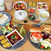 台中逢甲創意廚房早午餐X瓜瓜園,溯源食材產銷履歷,豐盛大餐盤、鐵鍋蛋餅捲,平價美味又健康