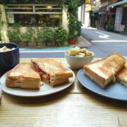 格里歐s 三明治‧激推瑪格麗特披薩般的脆皮吐司,五種起司交織的經典原味也不賴~!!!