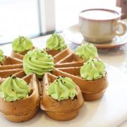 [ 民生社區咖啡店 ] 4MANO caffe ~民生店限定黑芝麻抹茶麻糬鬆餅