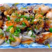 (三和夜市小吃美食)47年老店「明宏蚵仁湯」--- 炒米粉濕潤清香,乾蚵仁肥碩鮮度100好好吃!