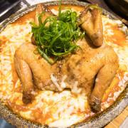 台中西區韓式料理打啵G台中向上店--釜山地鐵風格獨創一格,起司鍋巴烤雞及巨無霸肋排驚豔全場