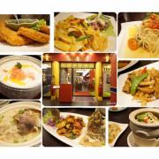 『阿杜皇家泰式料理』金碧輝煌的建築外觀  高cp值的皇家泰式經典料理