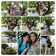 【新竹景點】戰車公園內的晴心樹屋~IG熱門打卡景點小小的祕密基地,真的小小的,千萬不要來喔^^