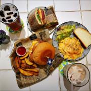 [台中] Fun Lab食艷室 台中早午餐推薦 餐點好吃不貴店外玻璃有翅膀好拍照