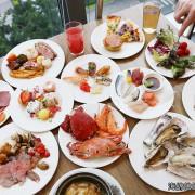 『漢來海港餐廳buffet自助吃到飽』美國總統歐巴馬都愛吃的貝賽斯冰淇淋!爐烤牛排、生蠔、舒芙蕾鬆餅吃到飽!價位、訂位、菜色(捷運芝山站)