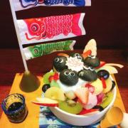 《台中❤️西屯》日式早午餐、甜點和菓子屋、日式懷石輕食🍛可愛的日系風「錦小路物語」讓少女尖叫的煤炭精靈日式刨冰🍧
