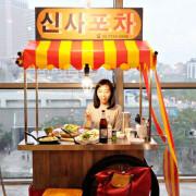 [信義區美食] 魷魚大叔馬車店-在布帳馬車吃飯,好像置身韓國啊!XD 信義區韓式料理推薦,好吃又好拍! 信義區聚餐/台北韓式料理/台北慶生餐廳/台北跨年餐廳推薦