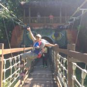 嘉義景點 [達娜伊谷吊橋]青山綠水任徜徉