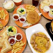 《台中♥食記》土司森林X美味之旅(南門總店)。中興大學附近平價推薦,豐富餐點就像讓味蕾進行一場有趣的旅行環遊全世界!