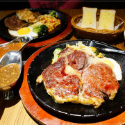 【人从众厚切牛排館】忠孝復興牛排,必點超厚切頂級沙朗牛排,大蒜麵包/玉米濃湯/牛肉湯/飲料無限暢飲