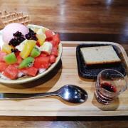 懷舊美食冰城─枝仔冰城台北大稻埕店🍨│旗山香蕉麵茶糊