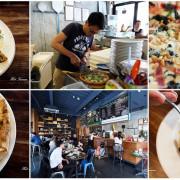 【台南東區】亞米亞米窯烤餐酒館:工業風格義式餐酒館,來吃正統的拿坡里披薩吧!免費停車場 近台南文化中心