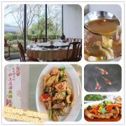 南投美食-土角厝水上庭園旋轉餐廳 獨家360度旋轉餐桌丨美味的中式精緻料理