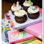 聖誕節甜點禮盒.作工精細又美味的翻糖手工杯子蛋糕──ERova cakes