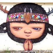 【南投。信義鄉】原鄉部落遇上街頭塗鴉藝術究竟會蹦出甚麼樣的火花呢?那就讓我們前往『潭南部落(潭南村、潭南社區)』一探究竟吧!