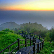 【嘉義。番路】阿里山二延平步道。茶園山景。黃昏&星空版風景分享