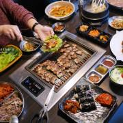 韓國人開的韓式烤肉餐廳一人500元有找道地韓式料理滿足套餐