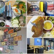 【台南】永康區 ★ Artemis Brunch /安緹米思餐廳 - 寬敞舒服的空間讓人想坐上一整個下午