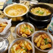「飽食⁂台南永康」韓鍋人 韓式鍋物專賣 平價部隊鍋 看似普通大醬鍋 豐盛小菜 都讓我回味無窮