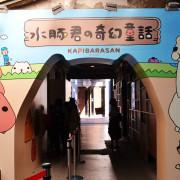 [展覽]水豚君の奇幻童話。超值療癒系,免費入場(台北華山1914文創園區)
