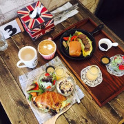 │食記│桃園/Mumu小倫敦│桃園藝文特區英式工業風格早午餐x美味手作餐點x寵物友善餐廳